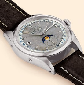 6062Ant:SS two-tone silver