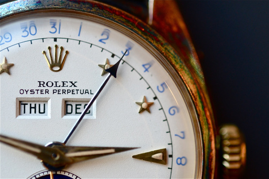 Rolex Encyclopedia Rolex Ref 6062 The Moonphase