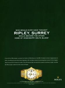 Eric-Calpton-Rolex-Ad:Ripley,Surrey
