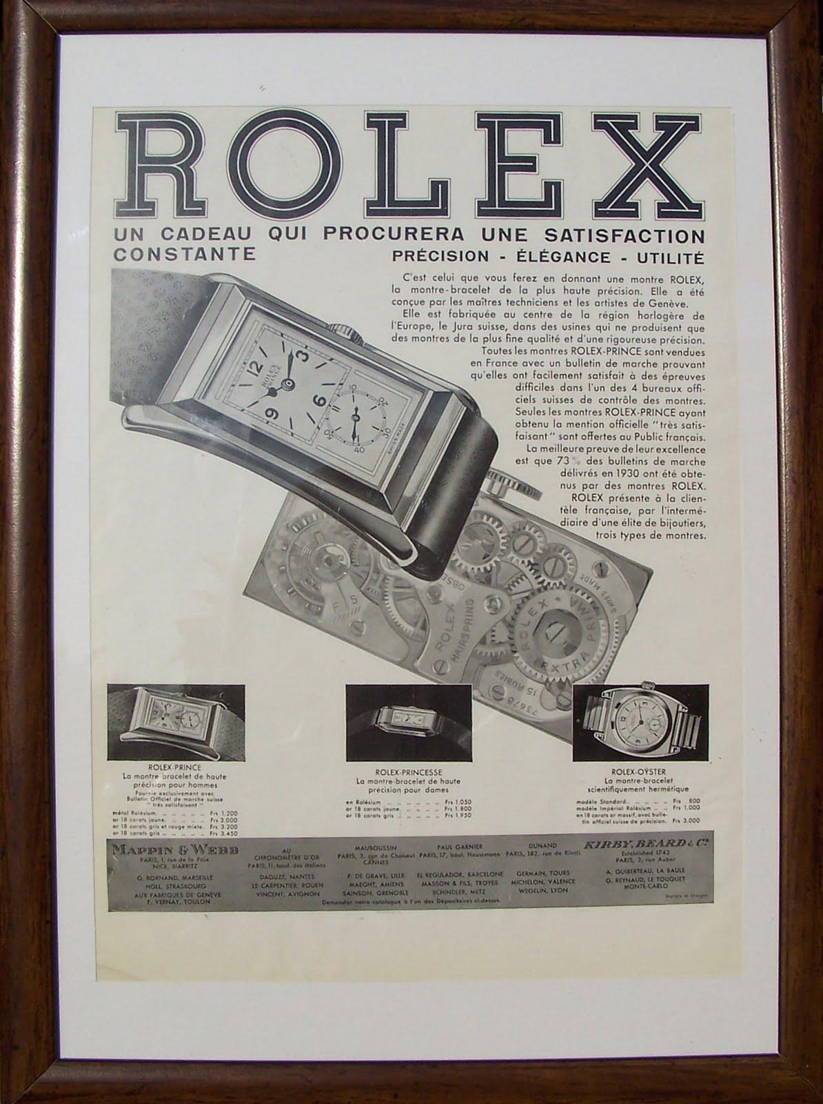 rolex encyclopedia  u00bb rolex prince  the doctor u2019s watch