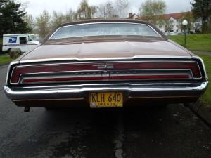 rg:1970 Ford Tbird rear bruin