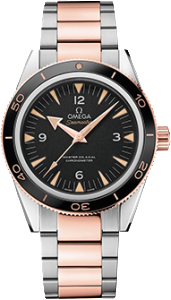 os:seamaster 300 ss:sedna gold front