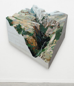 Watershed (Yosemite), 2013 (180x200x12cm), Mirror Lake project iov de Staat der NL