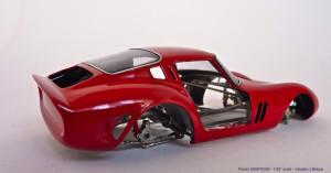 JB 1962 250 GTO carrosserie rood buizenframe