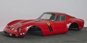 JB 1962 250 GTO carrosserie rood volledig