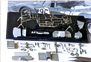 JB onderdelen 64 Ferrari 250 GTO