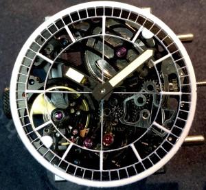 Flying Dutchman Skeleton uurwerk witte wijzers