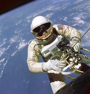 Ed White: the first American in space