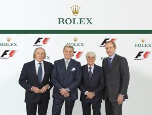 F1:Rolex groepsfoto