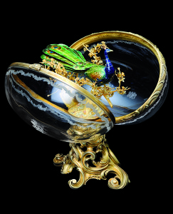 The Peacock Egg by Faberge