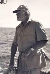 Ernest Hemingway in Cabo Blanco in mei 1956