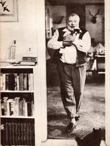 Het favoriete schoeisel van Hemingway waren loafers, hij had er rekken vol van