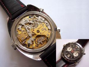 Heuer Autavia met Buren uurwerk en Dubois Depraz chronograaf module