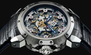 Pierre DeRoche horloge met Dubois Depraz uurwerk
