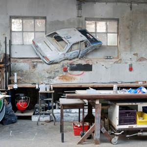 Voiture Balai studio, 2010 (225x112x10cm), privé collectie Rotterdam
