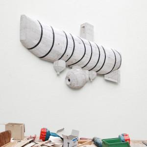 Bathyscape Trieste, 2010 (110x84x12cm), privé collectie Rotterdam