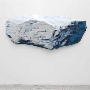 Drifting North, 2010 (242x108x16cm), privé collectie NY (USA)