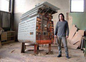 Ship Section (185x195x16cm), privé collectie Rotterdam en de kunstenaar zelf
