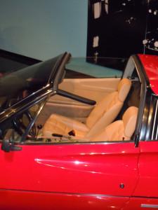 Magnum PI 1982 Ferrari interior