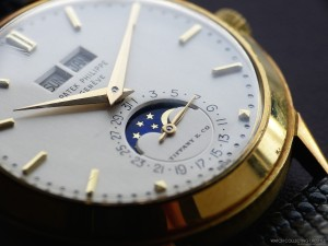 A ref. 3448 with Tiffany & Co on the dial